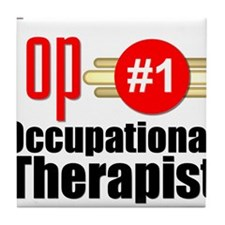 Top Occupational Therapist Tile Coaster