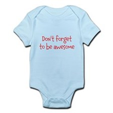 Be Awesome Infant Bodysuit