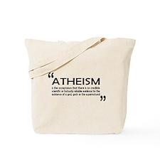 AFA Atheism DefinitionTote Bag