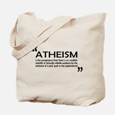 AFA Atheism DefinitionTote Bag