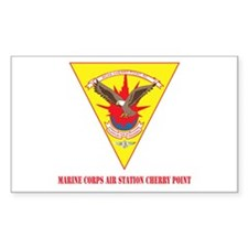 Marine Corps Air Station Cherry Point with Text St