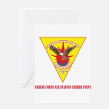 Marine Corps Air Station Cherry Point with Text Gr