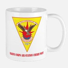 Marine Corps Air Station Cherry Point with Text Mu
