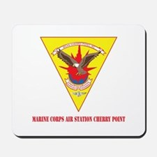 Marine Corps Air Station Cherry Point with Text Mo