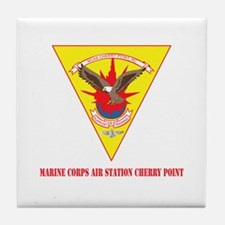 Marine Corps Air Station Cherry Point with Text Ti