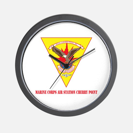 Marine Corps Air Station Cherry Point with Text Wa