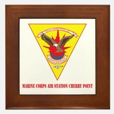 Marine Corps Air Station Cherry Point with Text Fr