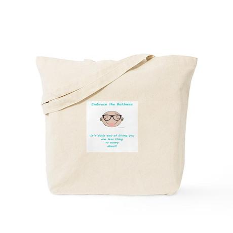 D.D. Embracing the Baldness Tote Bag