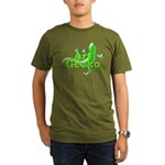 Art Gecko Organic Men's T-Shirt (dark)