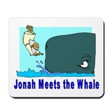 Jonah and the Whale Mousepad