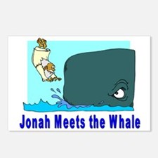 Jonah and the Whale Postcards (Package of 8)