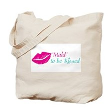 Kiss the Maid Bachelorette, Bridal Shower Tote Bag
