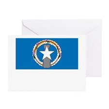 The Northern Mariana Islands Flag Picture Greeting