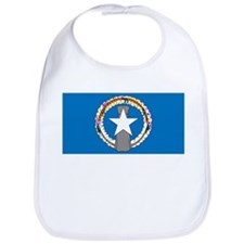 The Northern Mariana Islands Flag Picture Bib