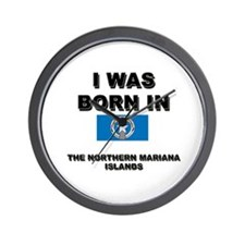 I Was Born In The Northern Mariana Islands Wall Cl