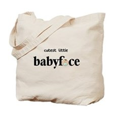 Cutest Little Baby Face Boy Tote Bag
