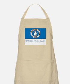 The Northern Mariana Islands Flag Gear BBQ Apron