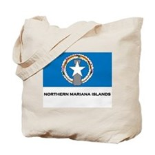 The Northern Mariana Islands Flag Merchandise Tote