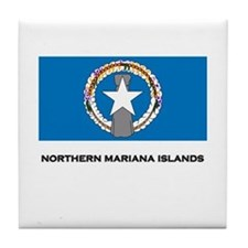 The Northern Mariana Islands Flag Merchandise Tile