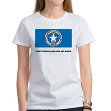 The Northern Mariana Islands Flag Merchandise Wome