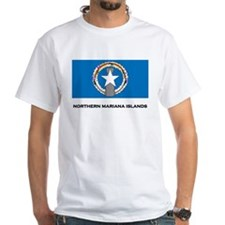 The Northern Mariana Islands Flag Merchandise Whit