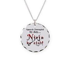 Speech Therapist Ninja Necklace