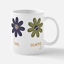 Peace Love Sewing Mug