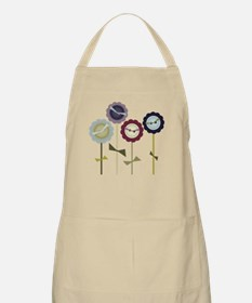 Button Flowers Apron
