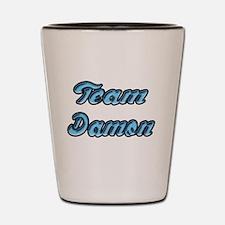 Team Damon 2 Shot Glass