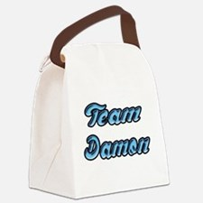 Team Damon 2 Canvas Lunch Bag