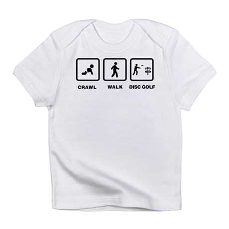 Disc Golfing Infant T-Shirt
