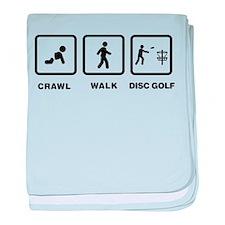 Disc Golfing baby blanket