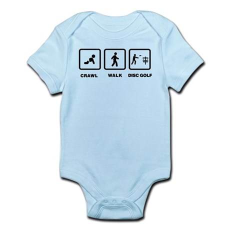 Disc Golfing Infant Bodysuit