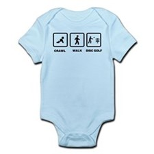 Disc Golfing Infant Bodysuit