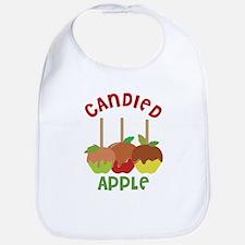 Candied Apple Bib