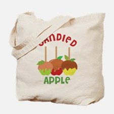 Candied Apple Tote Bag