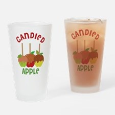 Candied Apple Drinking Glass