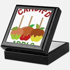Candied Apple Keepsake Box