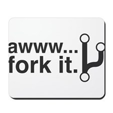 Fork It Mousepad