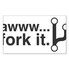 Fork It Decal