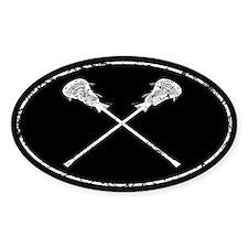 Lacrosse Sticks Decal