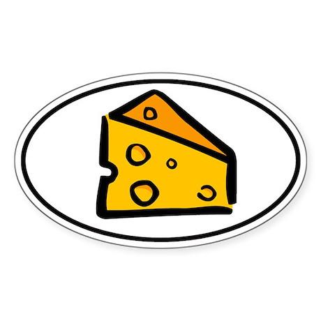 Big Cheese Sticker (Oval)