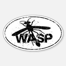 Lisbeth Salander wasp Sticker (Oval)
