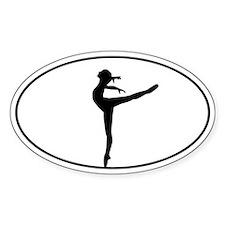 Ballet Dancer Bumper Stickers