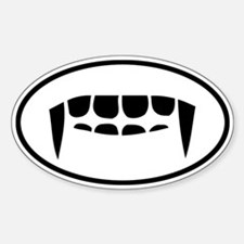 Fangs Auto Decal