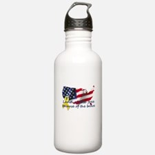 Cute Military son Water Bottle