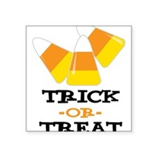"Trick Or Treat Square Sticker 3"" x 3"""