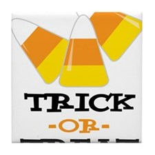 Trick Or Treat Tile Coaster