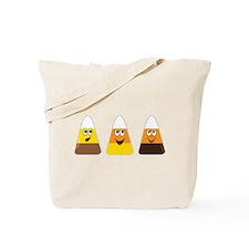 Fall Candy Corn Tote Bag