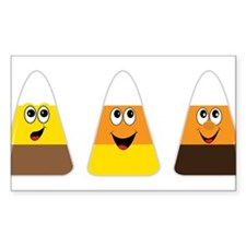 Fall Candy Corn Decal